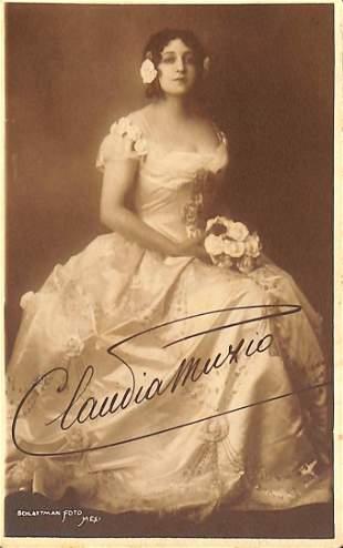 Claudia Muzio (Pavia 1889 . Roma 1936)