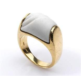 Gold ring - by BVLGARI