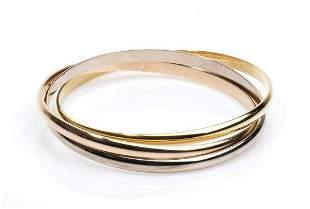 Gold bracelet - by CARTIER