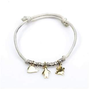Gold and silver bracelet - by DODO POMELLATO