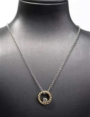 Gold and diamonds necklace - by POMELLATO MILANO