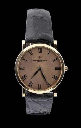 VACHERON CONSTANTIN Patrimony gold wristwatch - 1970s