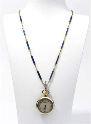 TIFFANY & CO. gold poket watch - 1950s