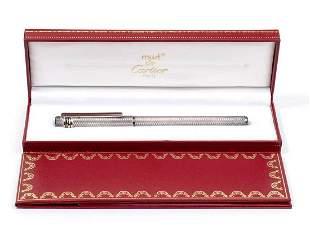 Must de CARTIER, fountain pen, 18k gold nib M