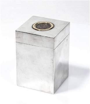 Silver box - by BVLGARI