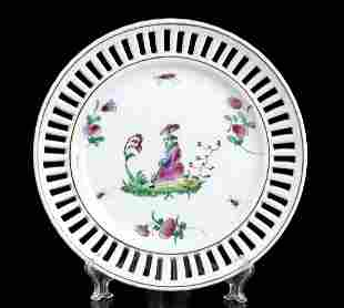 THIRTY-SEVEN PAINTED PORCELAIN DISHES Europe