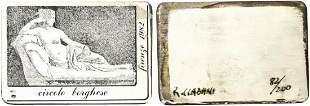 PAOLINA BORGHESE BONAPARTE. Fotincisione 1982 su