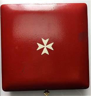 SMOM. Sovrano Militare Ordine di Malta. Medaglia 1968