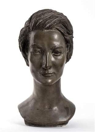 ANONYMOUS SCULPTOR OF THE 20TH CENTURY Bust of Maria