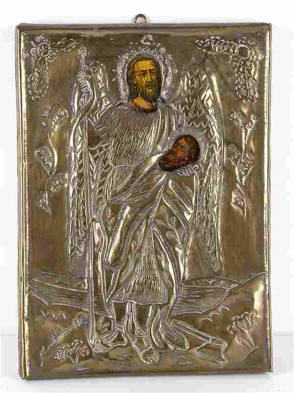 Icon of Saint John the Baptist Evangelist - 20th