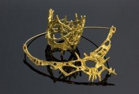 Guido La Regina (naples, 1909 - Rome, 1995) 18k Gold