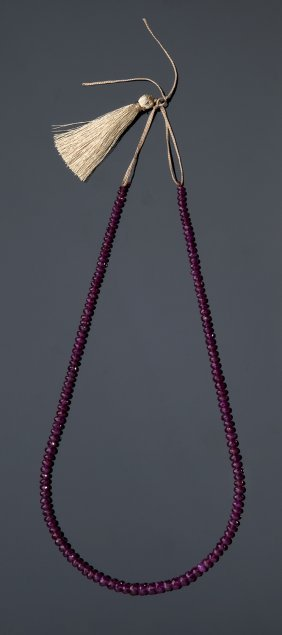 Composite Ruby Necklace