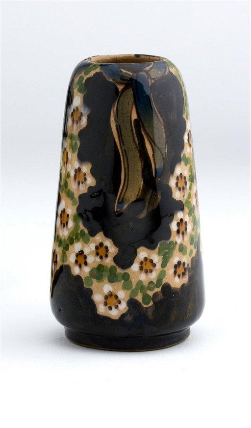 Ceramica Tiffany Civita Castellana.Renato Bassanelli Vase 1920