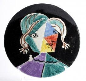 Pablo Picasso - Woman Face, 1951