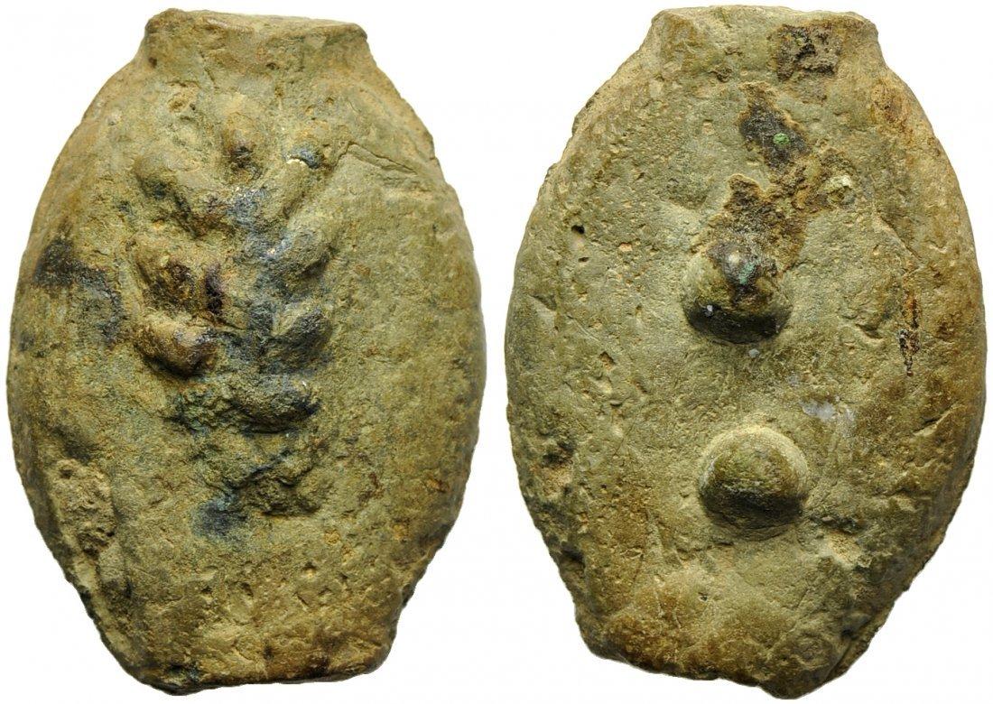 Umbria or Etruria, Tuder (?), Cast Sextans, 3rd century