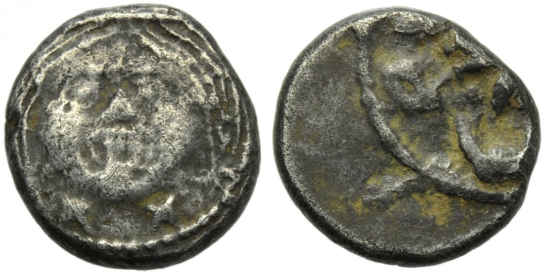 Etruria, Populonia, 20 Units, c. 400 BC