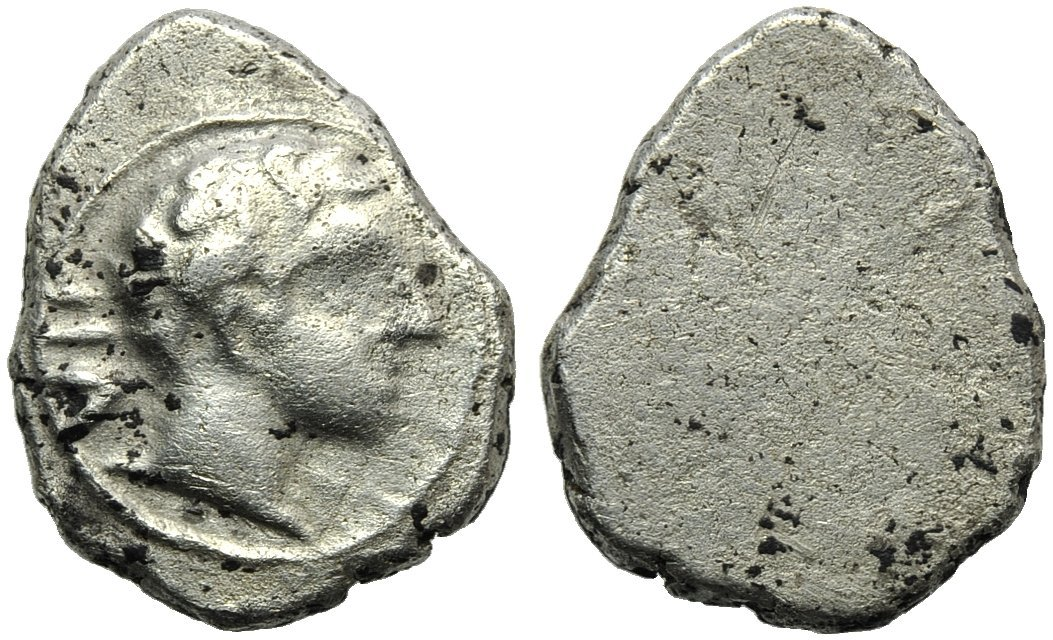 Etruria, Populonia, 2 Units and 1/2, c. 400 BC
