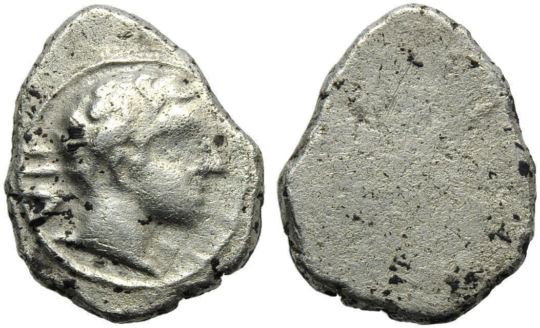 Etruria, Populonia, 2 Units and 1/2, c. 400 BC