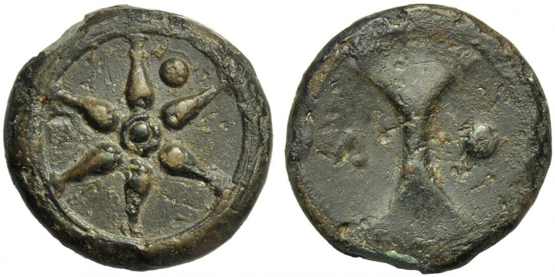 Etruria, Uncertain Mint, Uncia, 3rd century BC