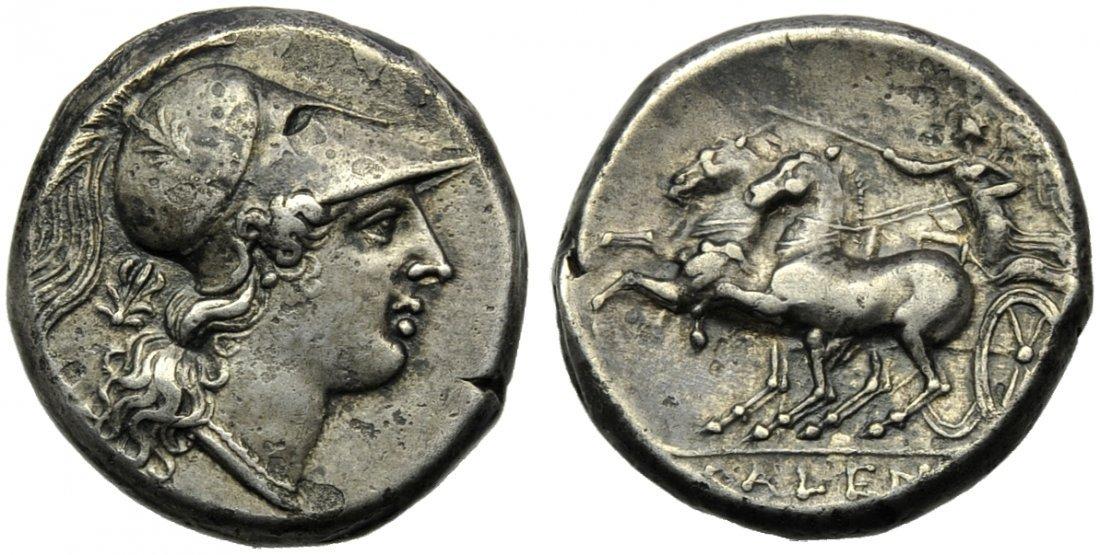 Campania, Cales, Didrachm, c. 265-240 BC