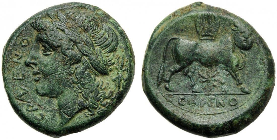 Campania, Cales, Bronze, c. 265-240 BC