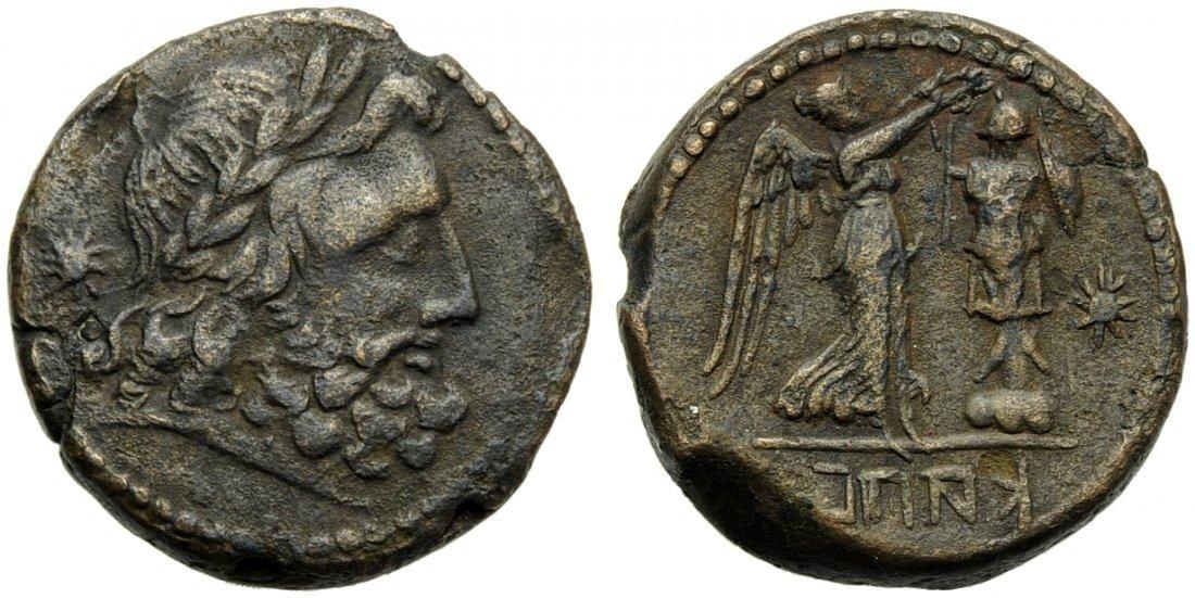 Campania, Capua, Uncia, 216-211 BC