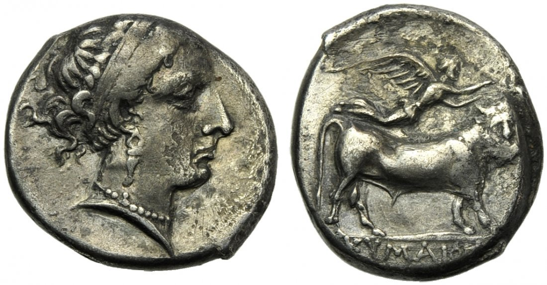 Campania, Cumae, Didrachm, c. 325-300 BC