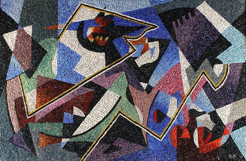 GINO SEVERINI - Composition with musical