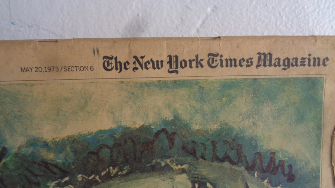 May 20 1973 New York Times Magazine Picasso - 2