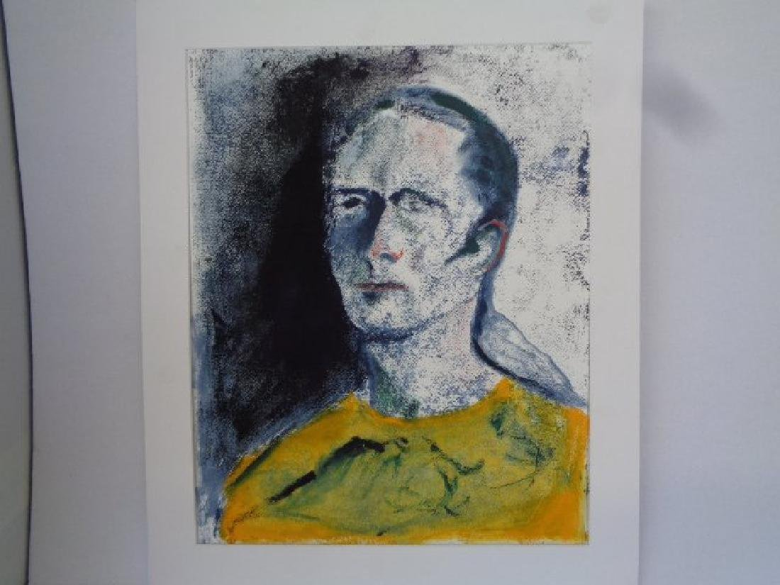 Original Anne Marie Birne,Abstract Expressionism Signed - 2