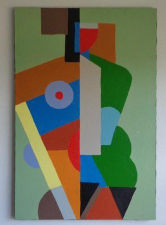 Large Contemporary Art-Picasso Cubism Painting Style