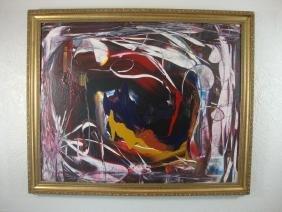 Jonh Kelly A - Venezuelan Surrealism Modernism Abstract