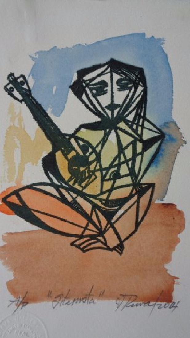 Leonel Lopez-Nussa (1916-2004) Illuminated Engraving - 5