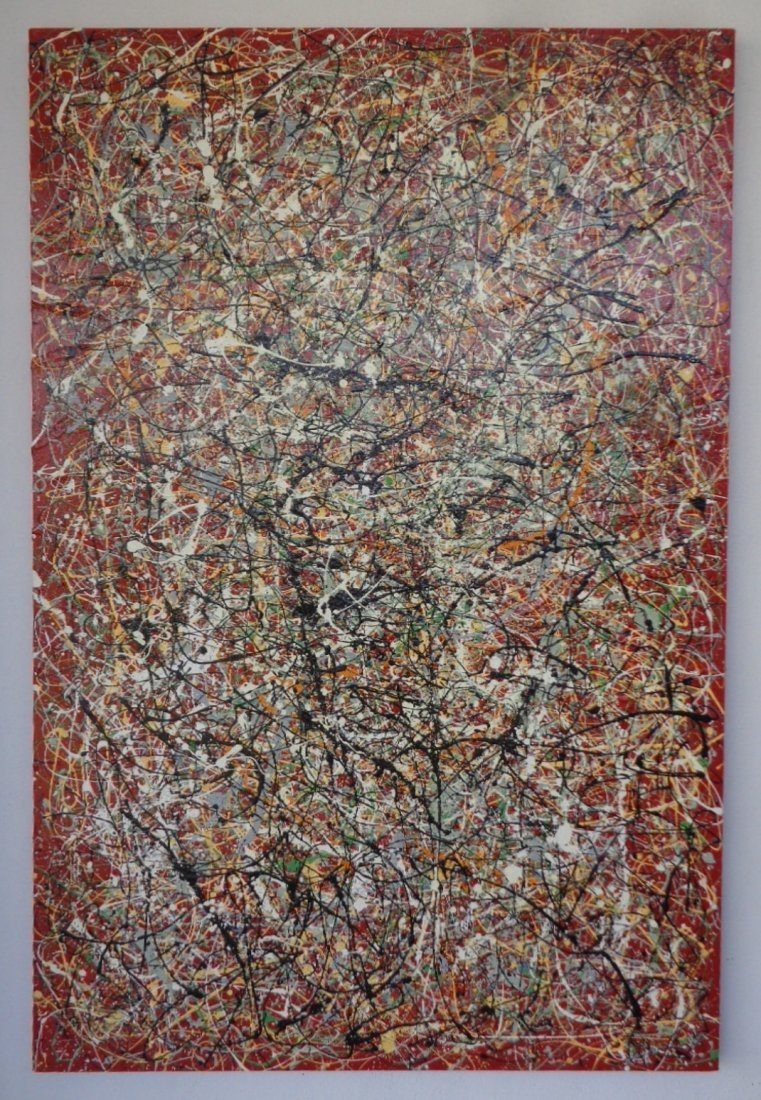 R Medina(1958 Ame)N York-Original Painting-Certificate