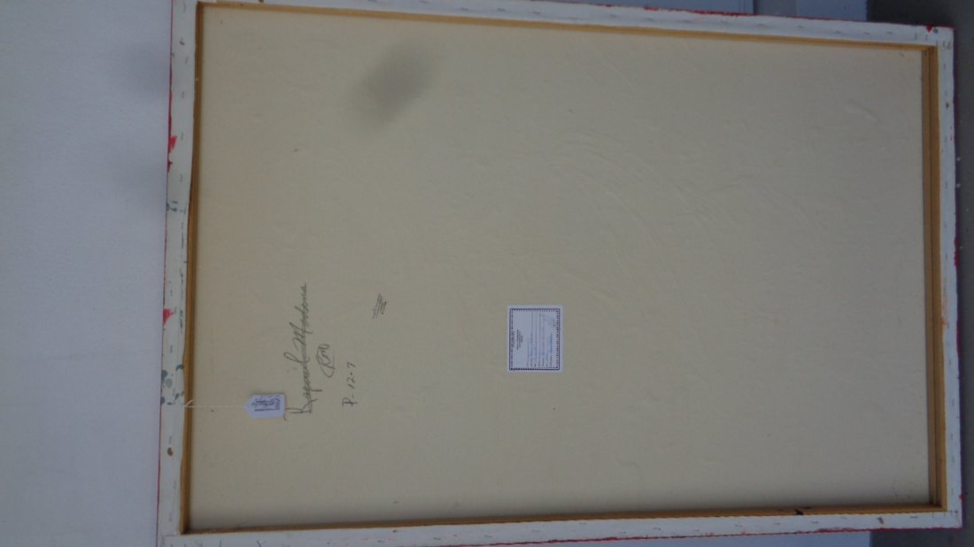 R Medina(1958 Ame)N York-Original Painting-Certificate - 5