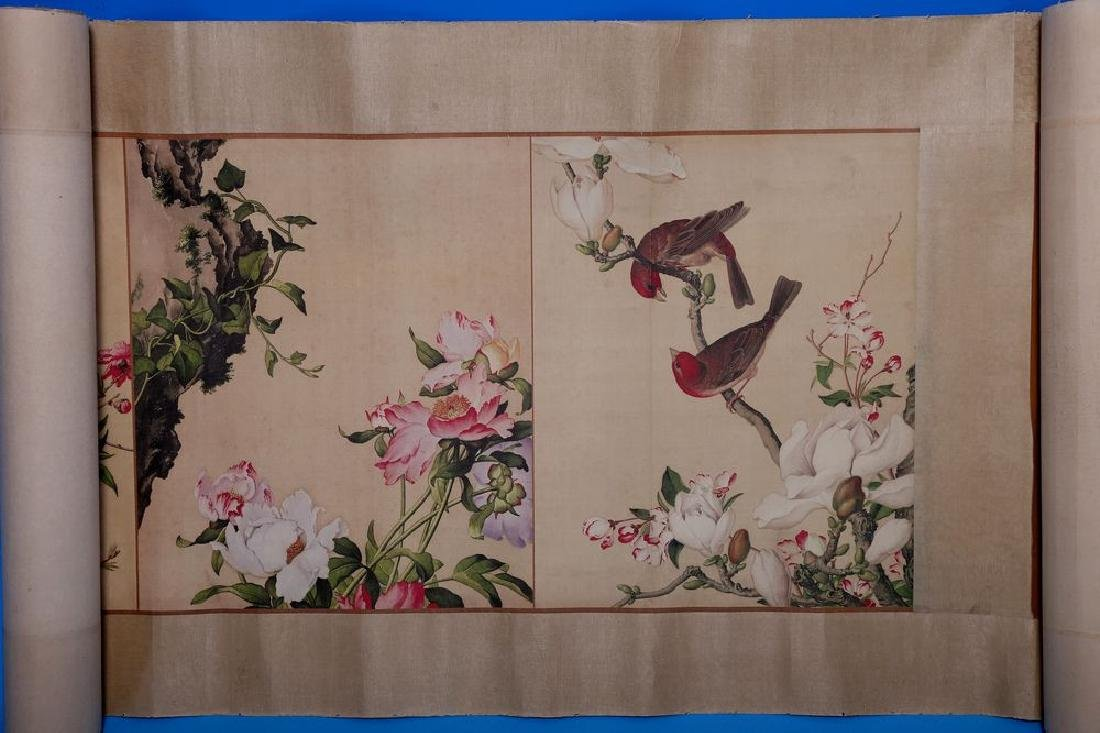 Chinese Hand Painting Scroll - LangSh ShiNing