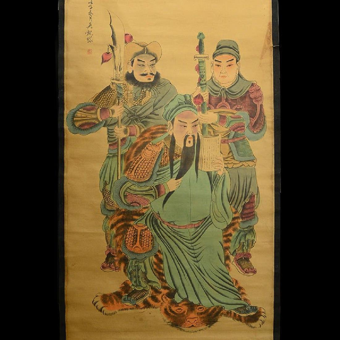 """Chinese Hand Painting Scroll.59"""""""
