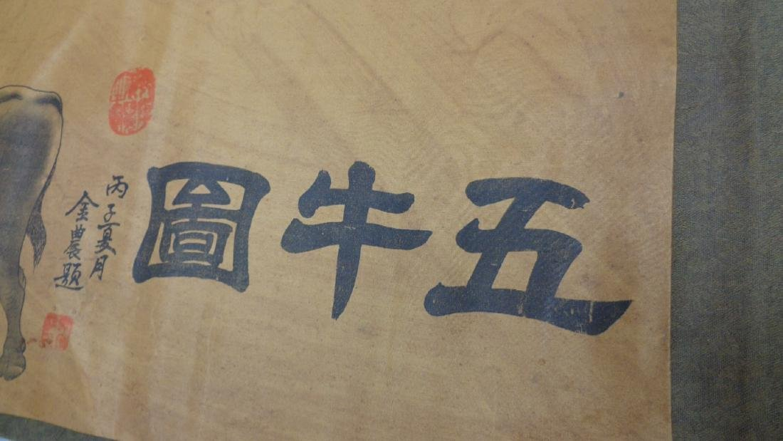 """Large Chinese Scroll Signed-Stamped-C:88"""""""