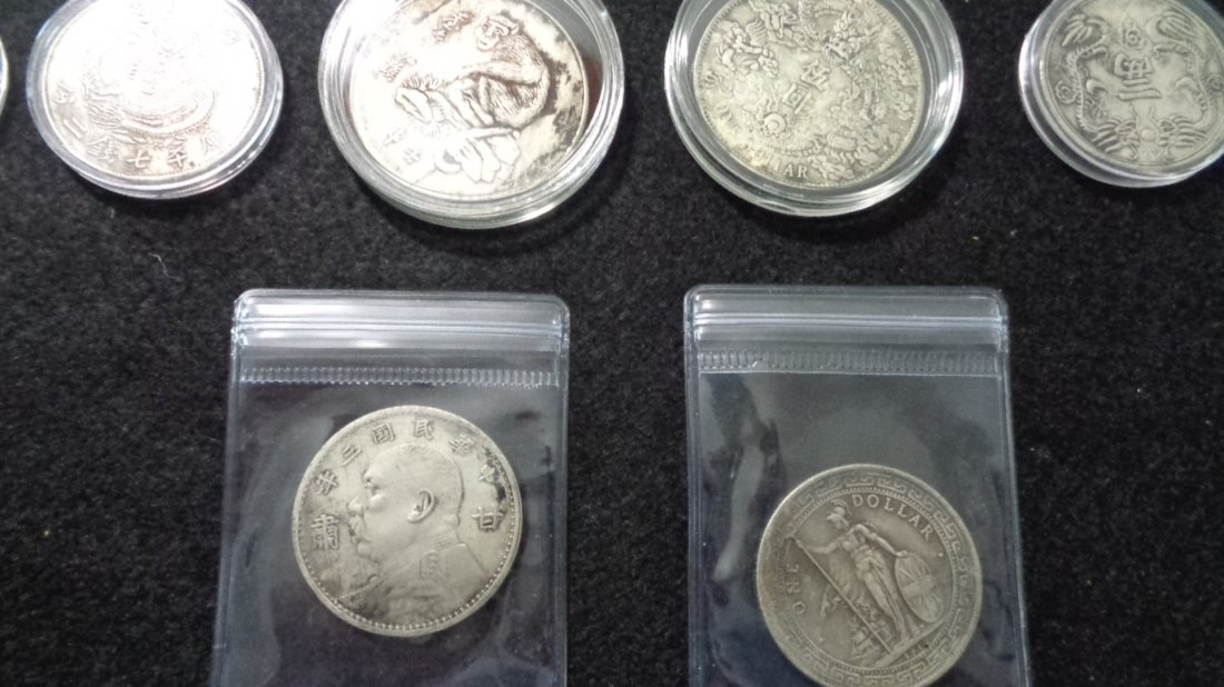 Lot of 12 Chinese coin. - 3
