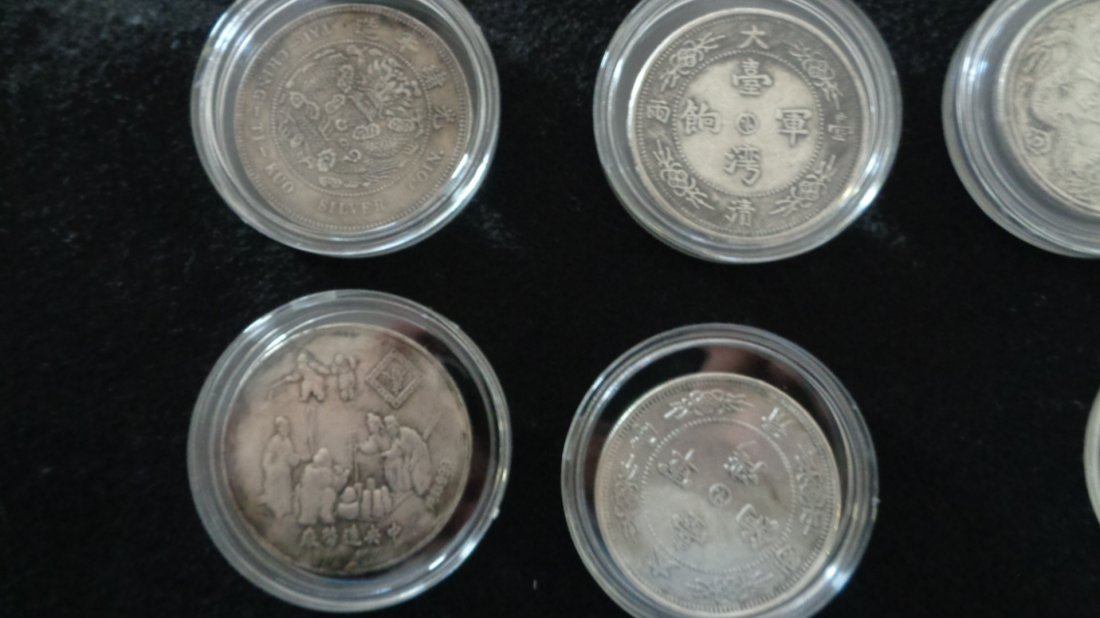 Lot of 12 Chinese coin. - 4