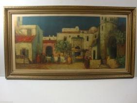 """In Old Argiers"" by Louis Seybold Print 1930's by Morri"