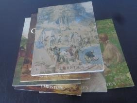 Lot of 6 Christies Catalogs, all high glossy color
