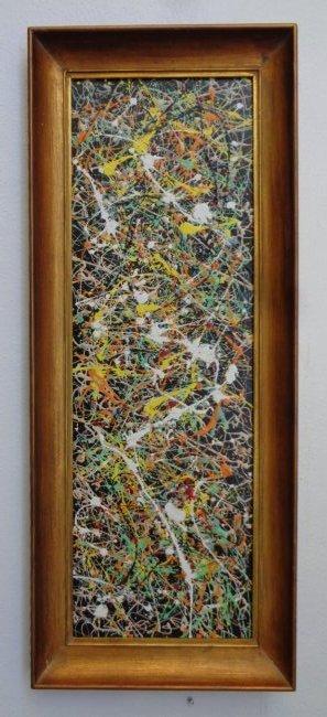 Original R Medina New York-Contemporary Painting W/ COA