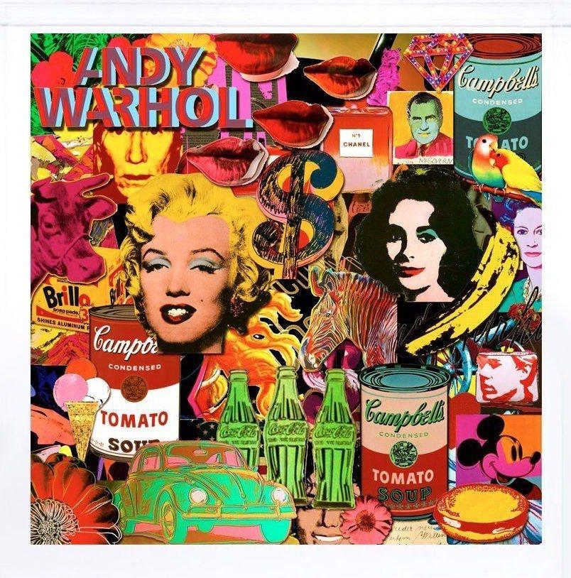 Andy Warhol Canvas Print Giclee NYC
