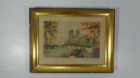Original Signed & Numbered framed Etchings