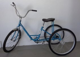 Vintage Tricycle by Miami Bicycle