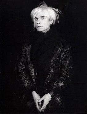 Black & White Andy Warhol Photo