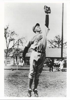 "1943' Merrill Glend ""pinky"" May Professional Baseball"