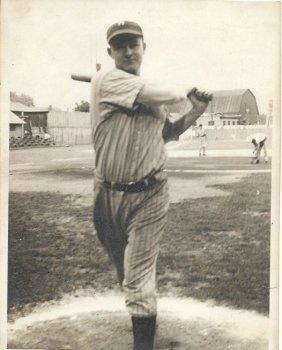 1939 Hamik Jr American Baseball Player Photo