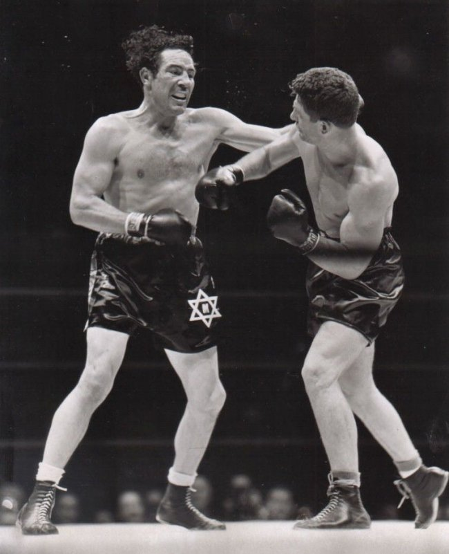 MAX BAER VS LOU NOVA 8X10 GLOSSY PHOTO